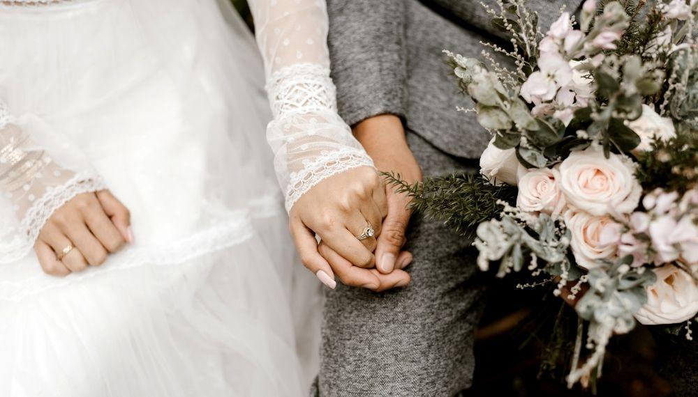 brudepar, kirke