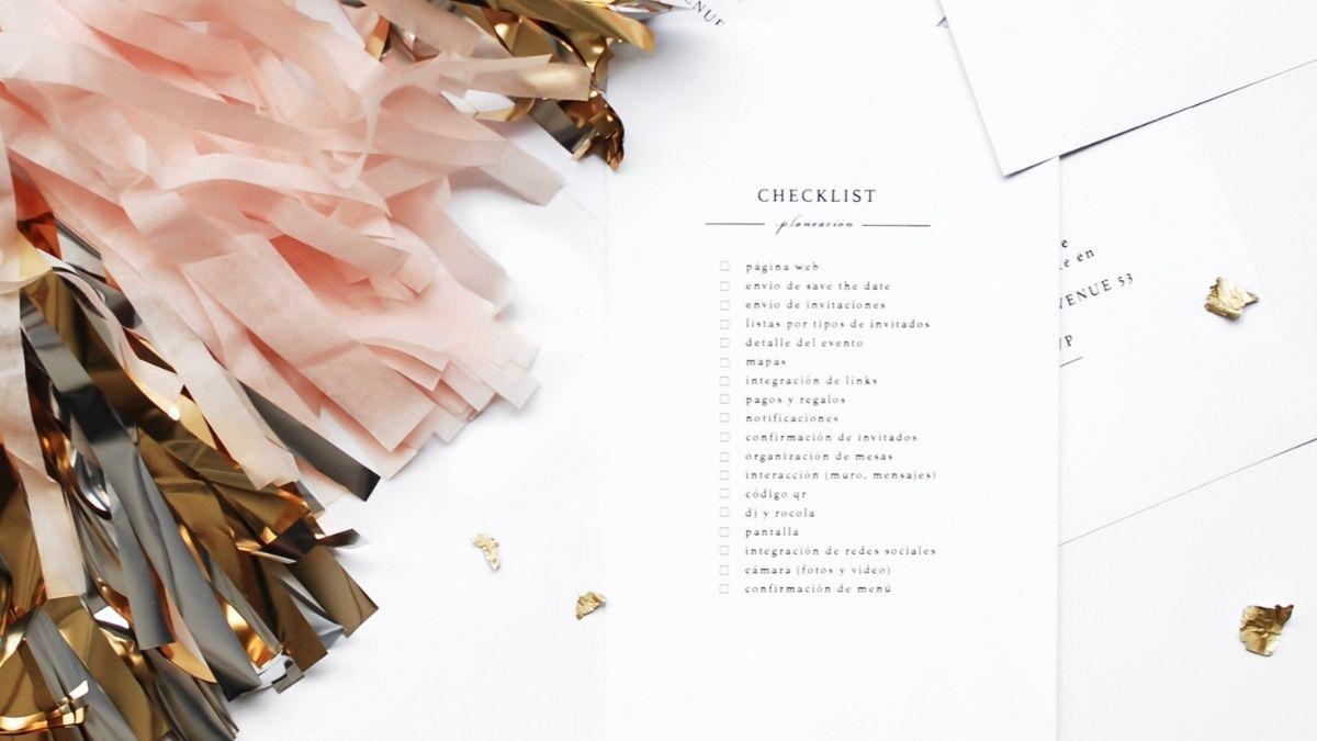 sjekkliste bryllup