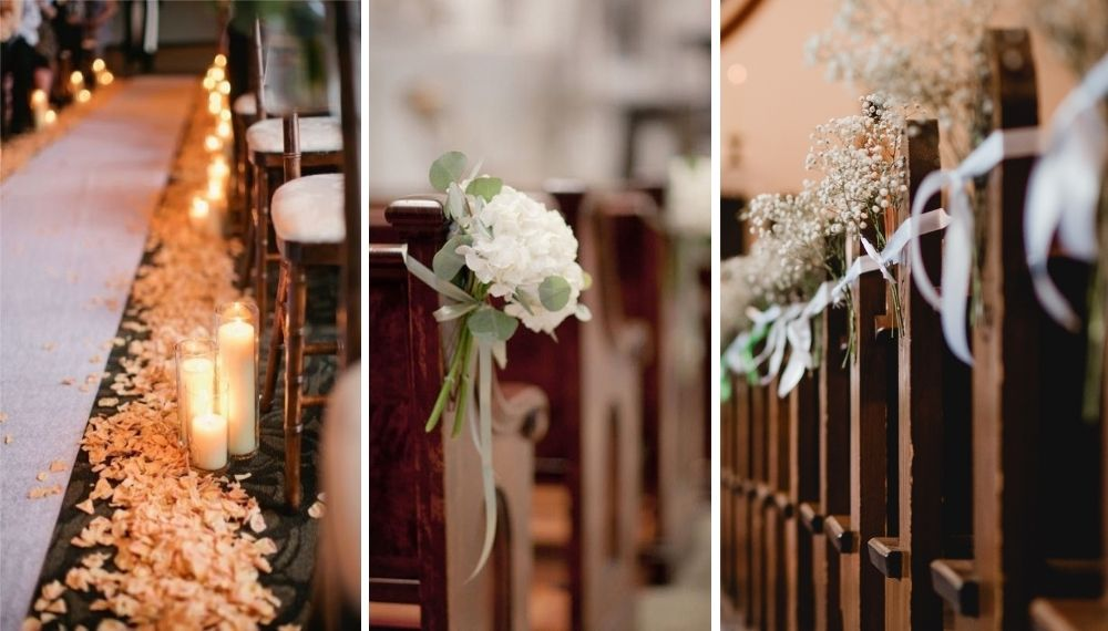 Hvordan pynte kirken til bryllup