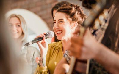 Sanger til bryllup!