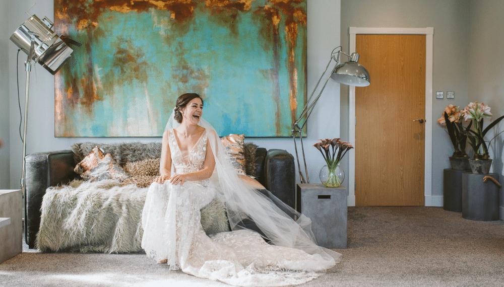 Brud, bryllupsfotograf