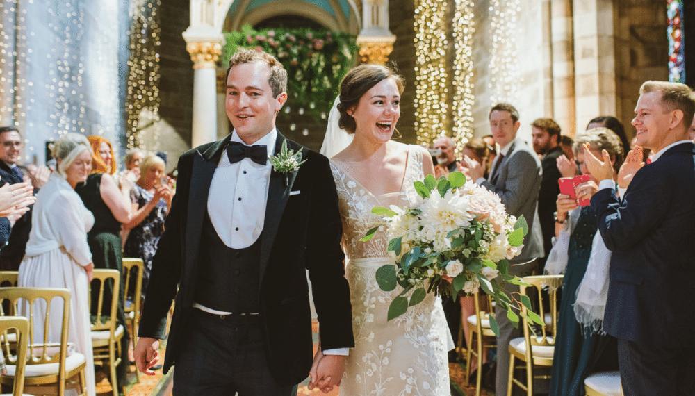 Brudepar, bryllupsfotograf